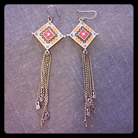 Lucky Brand Jewelry - Lucky Brand peace earrings