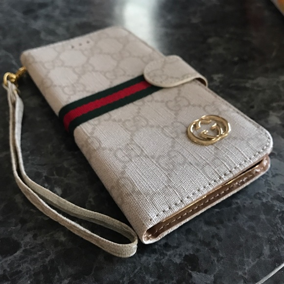 official photos fa139 e20ef 🌟SALE🌟iPhone 7 Plus wallet case Gucci Style