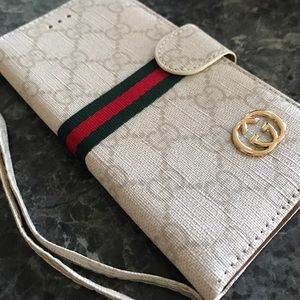 0167ab97db18a8 Accessories   Saleiphone 7 Plus Wallet Case Gucci Style   Poshmark