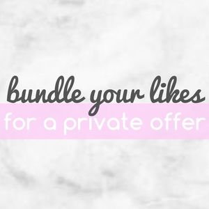 """add to bundle"" for a private offer"