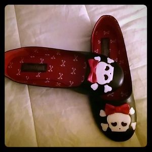 Funtasma Shoes - Skull flats 9