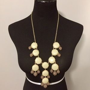 J.Crew Bubble Necklace Look-Alike