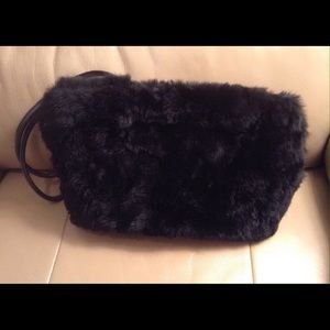 Lord & Taylor Handbags - Faux Mink Bag