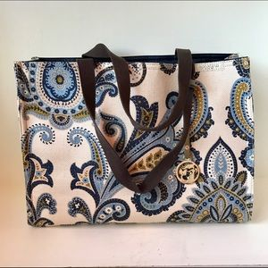 Spartina 449 Handbags - Spartina 449 Paisley Canvas Tote