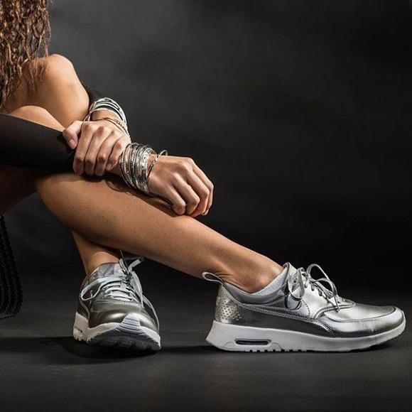 b362013c91f9f Nike Air Max Thea Metallic Sneakers