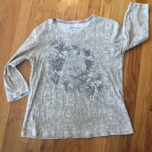 Nicole Miller Tuscany SOFTwine label T gray/purple