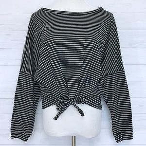 Shein Tops - Stripped Long Sleeve Tee