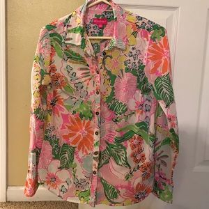 Lilly Pulitzer for Target Button Up