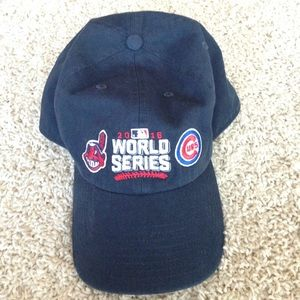 47 Accessories - NWOT Indians vs. Cubs World Series Hat