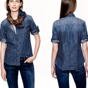 Keeper Chambray Shirt in Star Dot