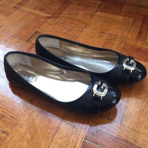 Guess Shoes - Guess Black Ballerina Flats. 031f8e13c5