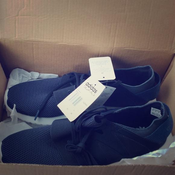 adidas Shoes | Navy Blue Adidas Tubular