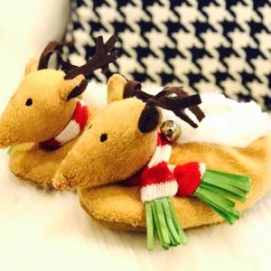 Other - Boutique Reindeer House Shoes