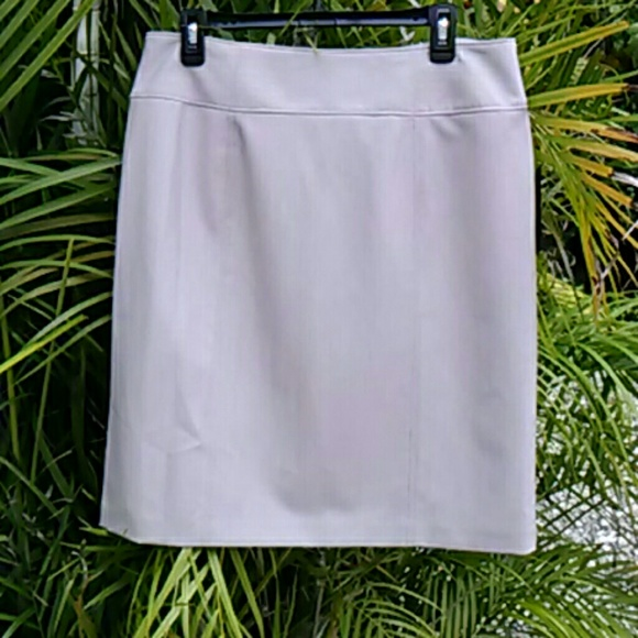Worthington Skirts - Beige Pencil Skirt