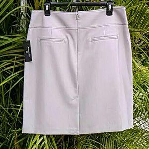 Worthington Skirts - Beige Pencil Skirt