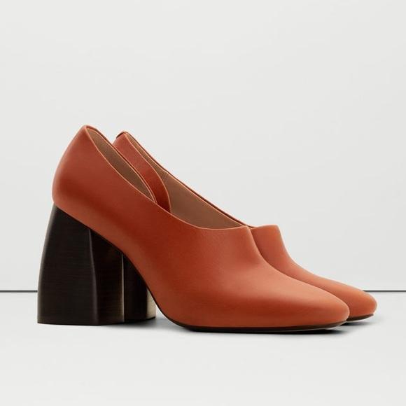 783e52b101fb79 Mango asymmetric heel--blogger favorite