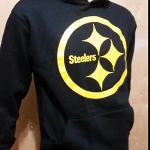 AMS Shirts - NWT Men s Pittsburgh Steelers Hoodie dc084a42f