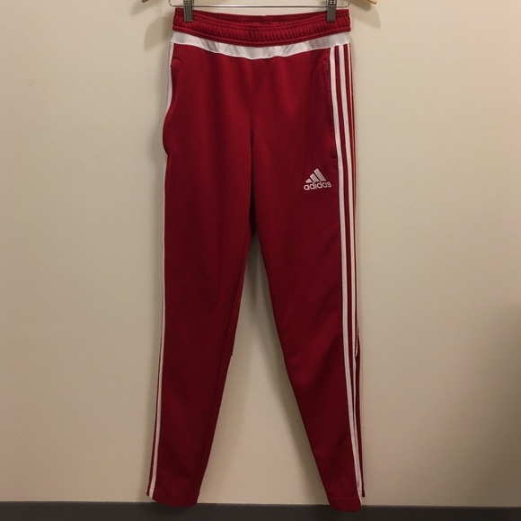 6a4640638106 Adidas Other - Red Adidas Track Pants