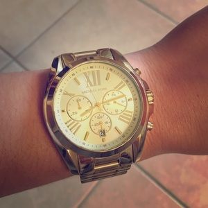 2 HOUR SALE!!! Gold Michael Kors Watch