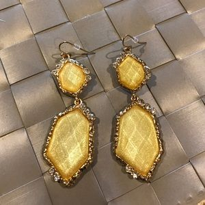 Ily Couture Jewelry - Yellow Ily Couture Earrings