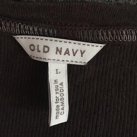 Old Navy Tops - Old Navy henley shirt