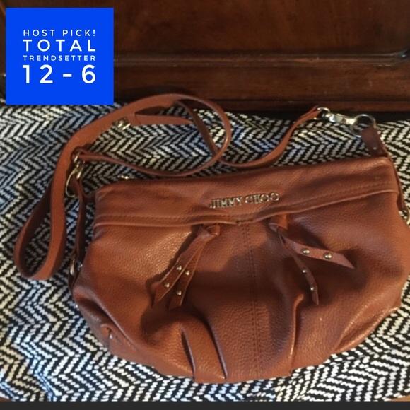 aa5480ab72 Jimmy Choo Handbags - 🎊 HP 12-6 Jimmy Choo Crossbody Bag.