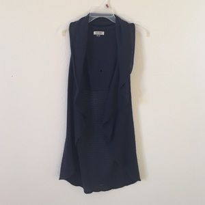 Anchor Blue Sweaters - Sleeveless cardigan