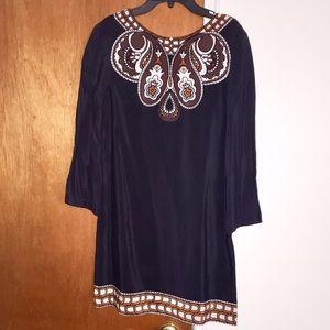 Toni silk dress