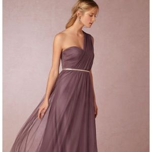 BHLDN Annabelle Dress by Jenny Yoo in Soft Plum