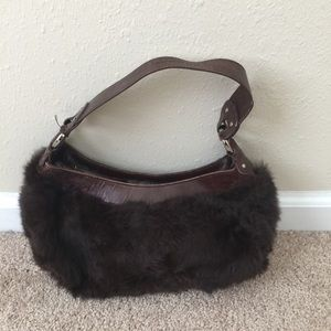 Kenneth Cole Fur Handbag