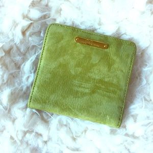 Gigi New York Bifold Suede Wallet