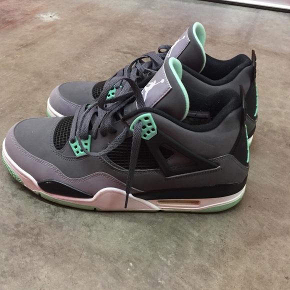 best cheap b250a 6e864 Jordan Other - Air Jordan 4 Green Glow size 11