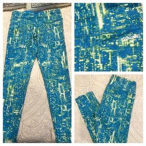 Spalding Pants - NWOT Spalding Galaxy Print Leggings