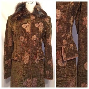Philosophy di Alberta Ferretti Jackets & Blazers - ⬇️Philosophy di Alberta Ferretti Coat Fur Collar