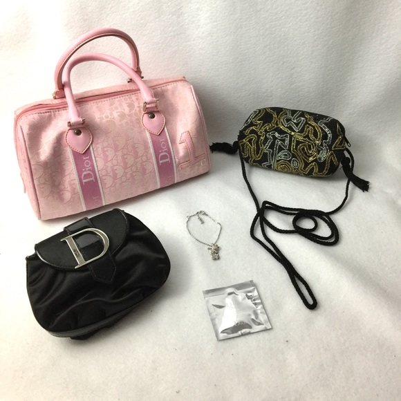 0510311161 Christian Dior Handbags - Auth DIOR Trotter Bag, Crossbody, Bracelet, Clutch