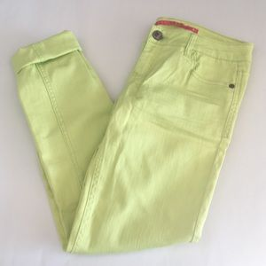 Tinseltown Denim - NWOT Lime Green Skinny Jeans by Tinseltown