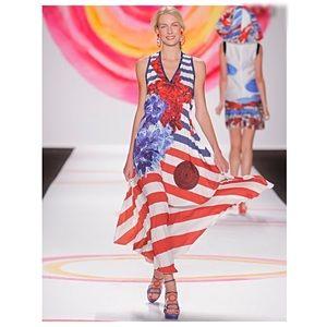 Desigual Dresses & Skirts - DESIGUAL C. Lacroix striped maxi dress