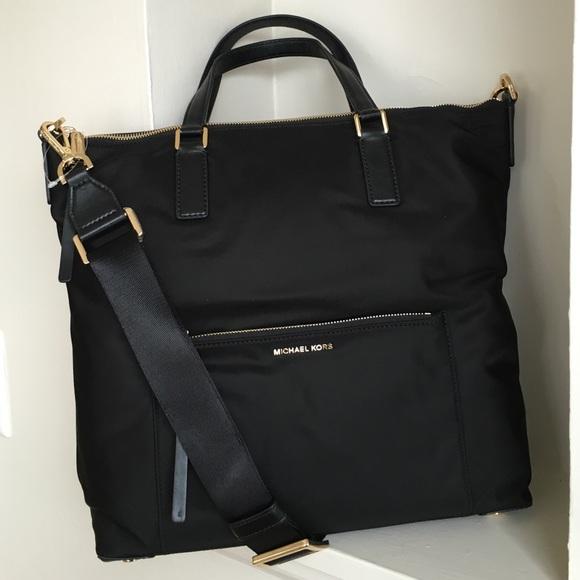 6183db5528df Michael Kors Bags | Ariana Black Large Convertible Tote | Poshmark