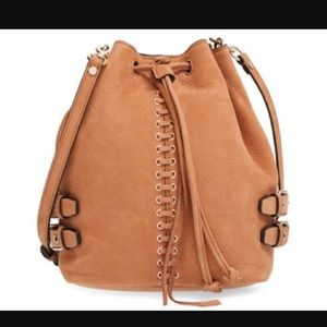 Rebecca Minkoff Handbags - Rebecca Minkoff Leather Moto Bucket Bag