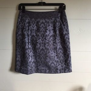 Ann Taylor Jacquard Skirt