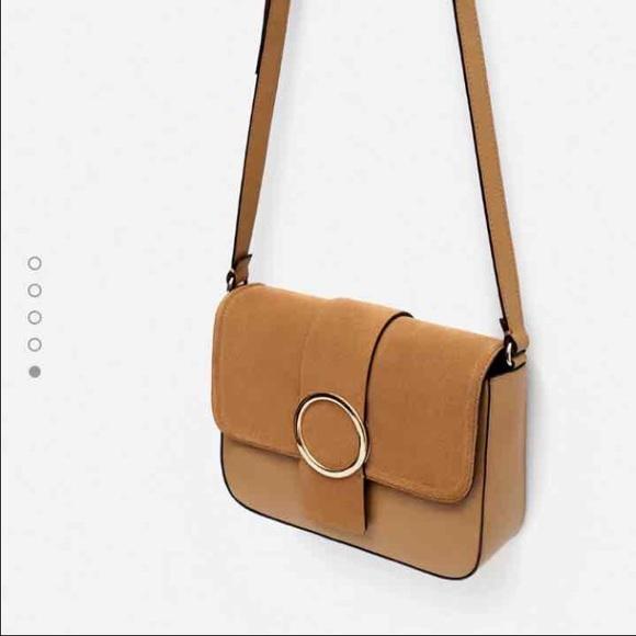 Zara Bags   Real Leather Bag   Poshmark aa34f0f621
