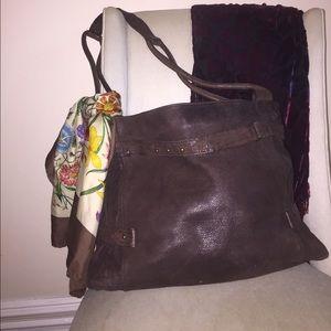 Max & Co. Handbags - Max & Co (Max Mara) leather messenger bag