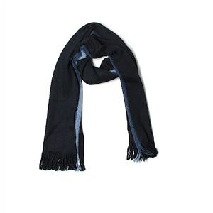 Tommy Hilfiger Accessories - Tommy Hilfiger Navy Striped Scarf