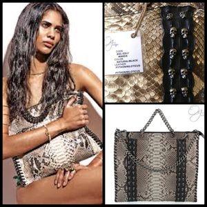 Old Gringo Handbags - OLD GRINGO 🐊 Wanda Python and Niloticus Croc Tote