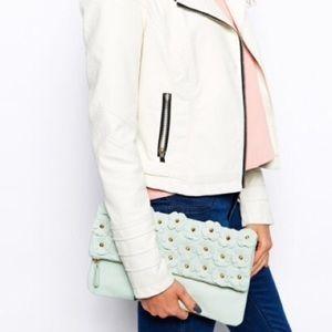 Aldo Handbags - Aldo flower clutch and crossbody bag