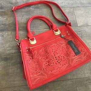 segolene Paris Handbags - { Segolene Paris } later cutout tote