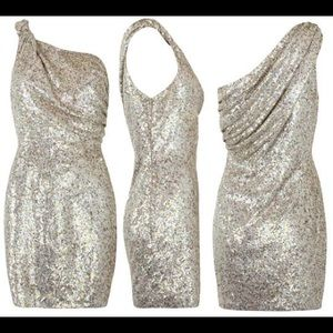 All Saints Velutina Sequin Dress
