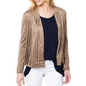 cupcakes and cashmere Jackets & Blazers - Fringe Bolero jacket