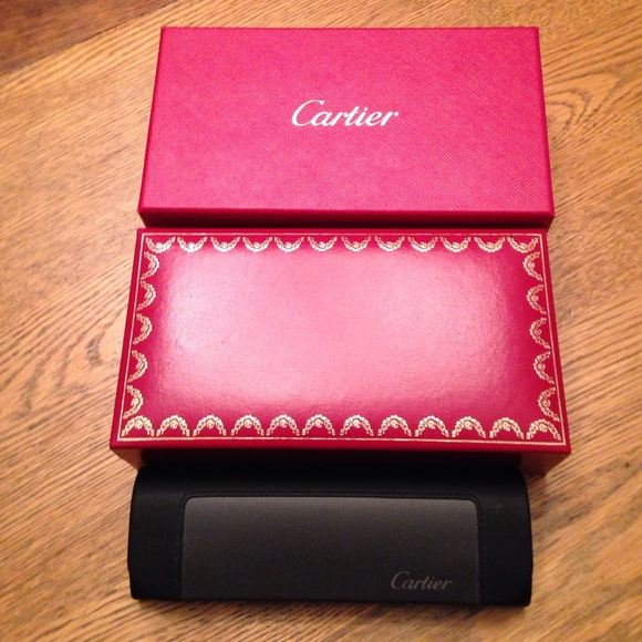 b2003dd54718 Cartier Accessories - Authentic Cartier glasses case and two boxes.