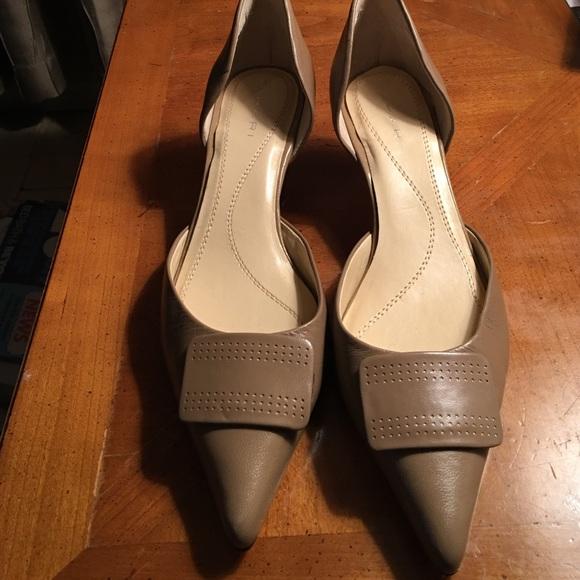 cerca il più recente scarpe sportive qualità affidabile Tahari Shoes | New Nude Kitten Heel Dorsay Pumps | Poshmark